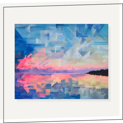 Cotton Candy Skies24×30