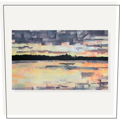 Lake of Gold30×48