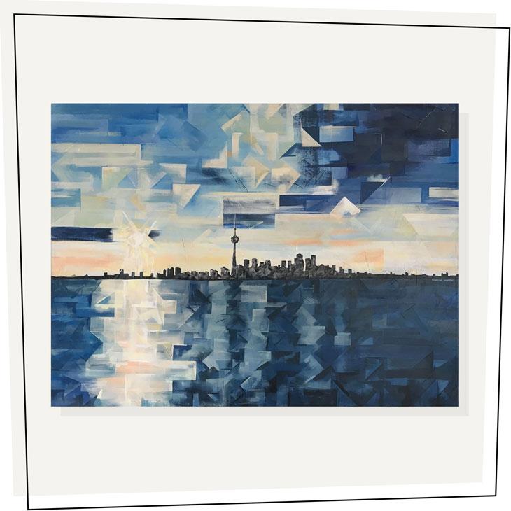 Toronto Blues---Shaina-Hardie-Art---36x48---2018