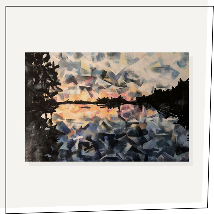 Views From the Dock---Shaina-Hardie-Art---24x30---2017